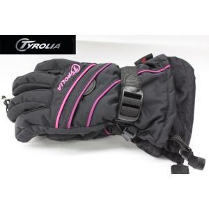 最新モデルTYROLIA チロリア ジュニア グローブ スキー・スノーボード (ピンク)/キッズ/子供用/スノーグローブ/手袋/|ajmart