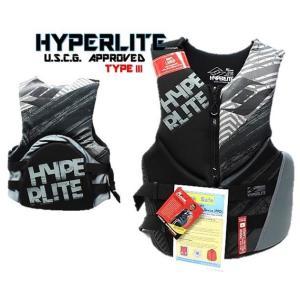 (HO SPORTS) HYPERLITE ライフジャケット LIFE JACKET (メンズ) 高性能ライフジャケット 素肌にも着心地の良いウエット素材 USCG APPROVED TYPE /ジェット/ウェ|ajmart