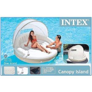 (送料無料) (INTEX インテックス) CANOPY ISLAND キャノピーアイランド プール/ラウンジ/浮き輪/サンシェード/日よけ/ビーチパラソル/ベッド/海水浴/|ajmart|03