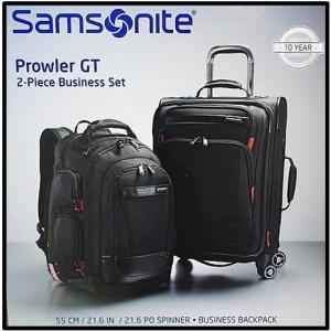 (送料無料) (サムソナイト Samsonite) Prowler GT 2Pビジネスセット4輪キャリースーツケース ビジネス用バックパック 2Pセットスピナー/キャリーバッグ/ビジネス|ajmart