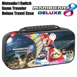 【Nintendo SWITCH】 ニンテンドー スイッチ ケース マリオカート 8 デラックス / デラックス トラベル ケース キャリングケース マリオカート/マリオ/任天堂/|ajmart