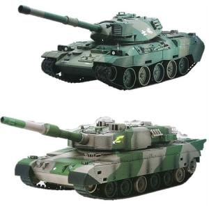 【NIKKO】 RC バトルタンク 陸上自衛隊 74式戦車/ 陸上自衛隊90式戦車 ウェザリング仕様 蓄光BB弾発射機能搭載 ラジコン/戦車/おもちゃ/クリスマス