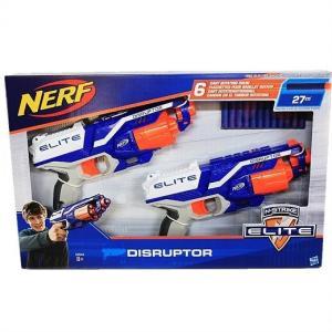 【NERF】 ナーフ Nストライク エリート ディスラプター 2丁セット ダーツ12本入り N-Strike Elite DISRUPTOR 2PK スポーツトイガン/おもちゃの鉄砲/銃あそび/ご|ajmart