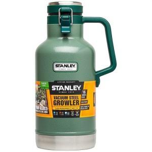 【STANLEY スタンレー】GROWLER クラシック 真空ボトル グロウラー ステンレスボトル 1.9L 水筒 魔法瓶/保温/保冷/キャンプ/スポーツ 観戦/アウトドア/釣り/バー ajmart