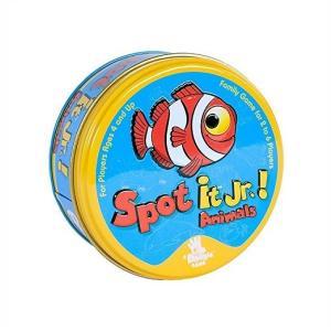 【Spot It! JR. Animals】スポットイット!ジュニア アニマルズ 卓上ゲーム/ボードゲーム/カードゲーム/英語/パーティー/知育玩具|ajmart