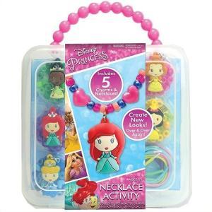 【Disney】ディズニー プリンセス ネックレス アクティビティセット Disney Princess Necklace Activity Set  アクセサリー 子供用 女の子用 プレゼント 誕生日|ajmart