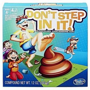 【Hasbro】ハズブロ Don't Step In It ステップインしないで下さい イベント/卓上ゲーム/ボードゲーム/カードゲーム/英語/パーティー/うんち/目隠し|ajmart