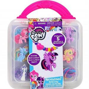 【Disney】 マイリトルポニー ネックレス アクティビティセット My Little Pony Necklace Activity   アクセサリー 子供用 女の子用 プレゼント ユニコーン|ajmart