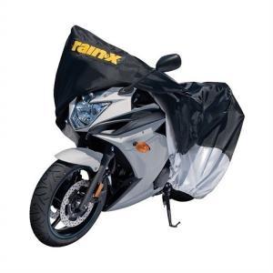 【RAIN-X】  レインエックス バイクカバー サイズ2段階調節可能 ファスナー付き オートバイカバー/モーターサイクルカバー/カバー|ajmart