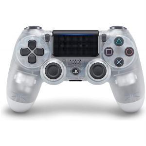 【PS4 純正】 DUALSHOCK 4 ワイヤレスコントローラー  クリスタル  より快適なゲーム...