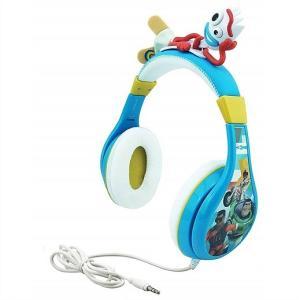 トイストーリー4 フォーキー ヘッドホン  音量制限機能付き   ●お子様のご使用に安心のボリューム...