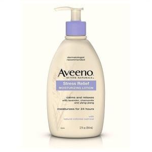 【Aveeno/アビーノ 】 ストレスリリーフ モイスチャーライジングローション 354ml Stress Relief Moisturizing Body Lotion 12fl oz ラベンダー/カモミール|ajmart