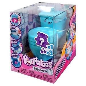 Pooparoos Surpriseroos Toilet Pack トイレサプライズ (ブルー  Blue) フィギュア/イエティ/オルカ/ペンギン/おもちゃ/人形/女の子用/プレゼント|ajmart