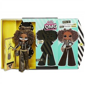 【L.O.L. Surprise 】 O.M.G. Royal Bee Fashion Doll w...