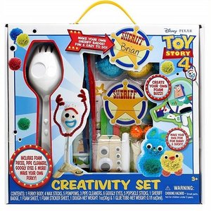【Disney】 トイストーリー 4/Toy Story 4 フォーキー クリエイティビティセット  Forky Creativity Set フィギュア/ダッキー/バニー/工作/手作り|ajmart