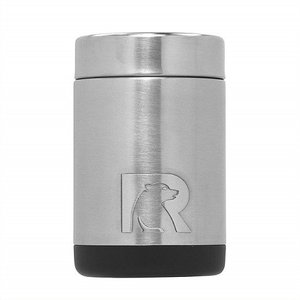 【RTIC】 ステンレススチール 缶クーラー 350ml缶用 保冷缶ホルダー ステンレススチール 295 ジャストフィット 真空断熱 ステンレス キャンプ/スポーツ観戦/釣り|ajmart