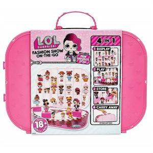 【L.O.L. Surprise 】 LOL サプライズ ファッションショー オンザゴー ホットピンク プレイセット Fashion Show On-The-Go Hot Pink Storage&Playset