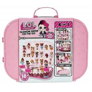 【L.O.L. Surprise 】LOL サプライズ ファッションショー オンザゴー ライトピンク プレイセット Fashion Show On-The-Go Light Pink Storage & Playset|ajmart