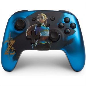 【Nintendo SWITCH】ニンテンドー スイッチ ワイヤレスコントローラー サテン ブルー ...