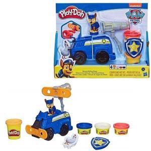 【Paw patrol】 パウパトロール チェイス Play-Doh プレイドー フィギュアと小麦粘...