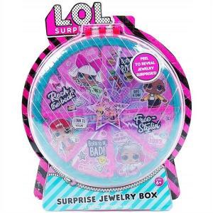 【L.O.L. Surprise 】 LOL サプライズ ジュエリーボックス Reveal Jewelry Box   おもちゃ/女の子用/プレゼント/lolサプライズ|ajmart