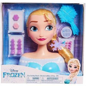 【Disney】 ディズニー フローズン アナと雪の女王 エルサ スタイリングヘッド ヘアメイク/ヘアアレンジ/フィギュア/人形/髪遊び/子供用/女の子用/おもちゃ/|ajmart
