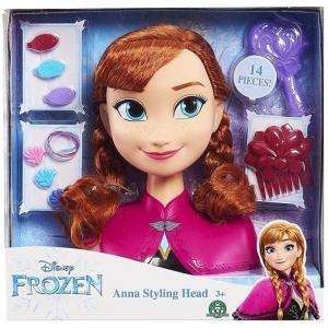【Disney】 ディズニー フローズン アナと雪の女王 アナ スタイリングヘッド ヘアメイク/ヘアアレンジ/フィギュア/人形/髪遊び/子供用/女の子用/おもちゃ/|ajmart