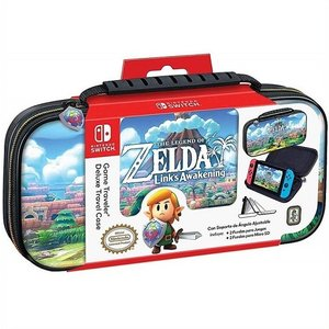 【Nintendo SWITCH】 ニンテンドー スイッチ ケース ゼルダの伝説 リンクの目覚め デ...