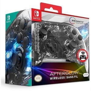 【Nintendo SWITCH】 ニンテンドー スイッチ 光る!ワイヤレス コントローラー (無線) アフターグロー デラックス PDP/スウィッチ/任天堂|ajmart