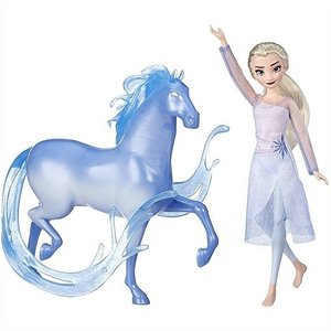 【Disney】 ディズニー フローズン アナと雪の女王2 エルサ ファッションドール & ノック フィギュア /人形/子供用/女の子用/プレゼント/誕生日/クリスマス|ajmart