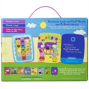 【Peppa Pig 】 ペッパピッグ ミーリーダー 絵本8冊セット 英語の自動再生付き 英語絵本 Me Reader Electronic Reader Jr and 8-Book Library ajmart 02