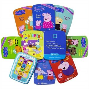 【Peppa Pig 】 ペッパピッグ ミーリーダー 絵本8冊セット 英語の自動再生付き 英語絵本 Me Reader Electronic Reader Jr and 8-Book Library ajmart 03