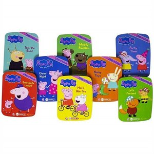 【Peppa Pig 】 ペッパピッグ ミーリーダー 絵本8冊セット 英語の自動再生付き 英語絵本 Me Reader Electronic Reader Jr and 8-Book Library ajmart 04