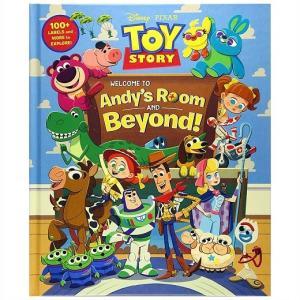 【Disney 】 ディズニー トイストーリー Toy Story 英語絵本 Welcome to Andy's Room & Beyond トイストーリー/アンディーの部屋|ajmart