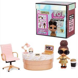 【L.O.L. Surprise 】 LOL サプライズ ファニチャー スクールオフィス ボスクイーン Furniture シリーズ3 School Office with Boss Queen & 10+ Surprises|ajmart