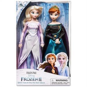 【Disney Store】 ディズニーストア フローズン アナと雪の女王2 アナ&エルサ クラシックドールセット フィギュア/人形/子供用/女の子用/プレゼント/クリスマス|ajmart