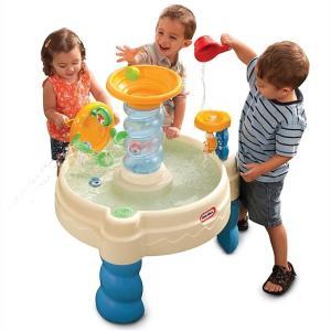 【送料無料】【little tikes リトルタイクス】 スピラリンシー ウォーターパーク ウォーターテーブル Spiralin' Seas Waterpark Water Table 水遊び/知育玩具/|ajmart