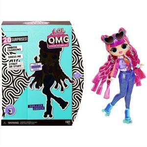 【L.O.L. Surprise 】 LOL サプライズ O.M.G. シリーズ3 ローラーチック ファッションドール Roller Chick Fashion Doll with 20 Surprises OMG/おもちゃ/人形/|ajmart