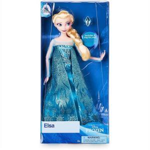 【Disney】 ディズニー フローズン アナと雪の女王2 エルサ リング付き クラシックドール フィギュア/指輪/人形/子供用/女の子用/プレゼント/クリスマス|ajmart