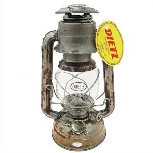 【Dietz デイツ 】 #76 オイルランプ 無塗装(サビ)Unfinished (Rusty)/ハリケーンランタン/ Oil Lamp Burning Lantern シルバー/ランタン/キャンプ/BBQ/釣り|ajmart