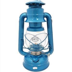 【Dietz デイツ 】 #76 オイルランプ ブルー(青) Oil Lamp Burning Lantern Blue /ハリケーンランタン/灯油/ランタン/キャンプ/BBQ/アウトドア/ランタン/釣り/|ajmart