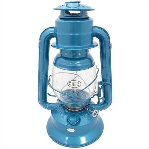 【Dietz デイツ 】 #30 オイルランプ ブルー(青) Oil Lamp Burning Lantern Blue /ハリケーンランタン/灯油/ランタン/キャンプ/BBQ/アウトドア/ランタン/釣り/|ajmart