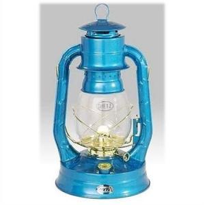 【Dietz デイツ 】 #8 エア パイロット オイル ランタン ブルー×ゴールド Air Pilot Oil Burning Lantern Blue with Gold ハリケーンランタン/青金/ランプ/|ajmart