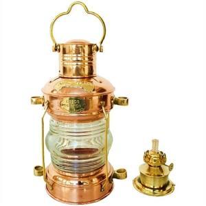 【Brass & Copper】 アンカーオイルランタン LEEDS BURTON 真鍮/アンティーク/ランタン/ランプ/キャンプ/BBQ/アウトドア/ランタン/釣り/ハリケーン/マリン|ajmart