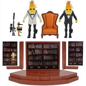 【Fortnite/フォートナイト】 エージェントルーム エージェントピーリー 4インチフィギュア2体入りプレイセット おもちゃ/公式/バナナ/ジオラマ/|ajmart
