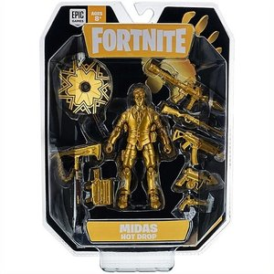 フォートナイト ホットドロップ マイダス ゴールド Fortnite Hot Drop 1 Figure Pack Midas-Gold フィギュア/ゲーム/キャラクター|ajmart