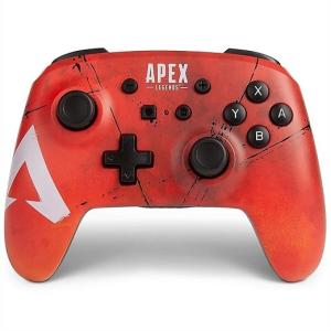 【Nintendo SWITCH】 Apex Legends エーペックス レジェンズ ニンテンドー スイッチ  ワイヤレスコントローラー PowerA/任天堂/スウィッチ/無線|ajmart