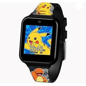 【Pokemon】 ポケモン タッチスクリーン スマートウォッチ ピカチュウ/Touch-Screen Smartwatch AZ/おもちゃ/時計/カメラ/自撮り/セルフィー/男の子用/|ajmart