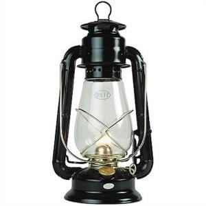 【Dietz デイツ 】 #20 ジュニア オイル ランタン ブラック×ゴールド Junior Oil Burning Lantern Black With Gold ハリケーンランタン/ランプ/キャンプ/BBQ/ア|ajmart
