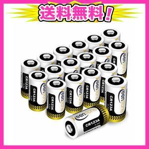 CR123A 18個 3Vリチウム電池 1600mAh Keenstone PTC保護付き 非充電式...